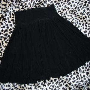 NWT Norma Kamali Women's Black Skirt SZ S